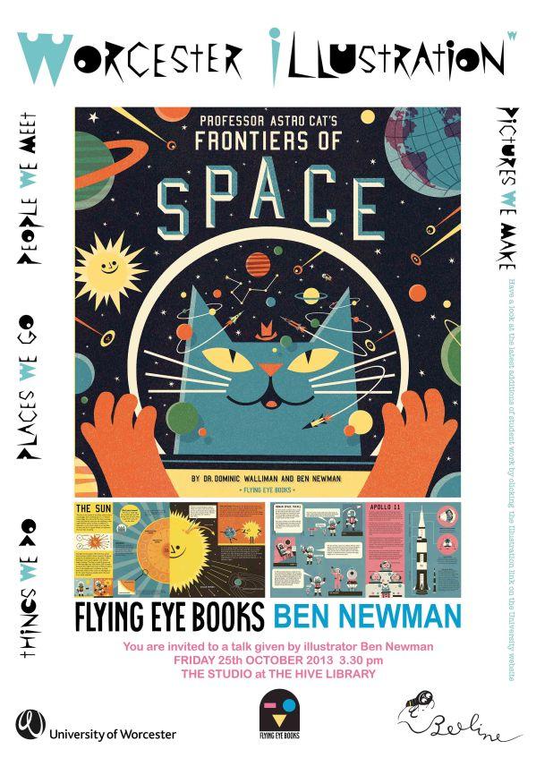 Flying Eye BooksNewman email copy