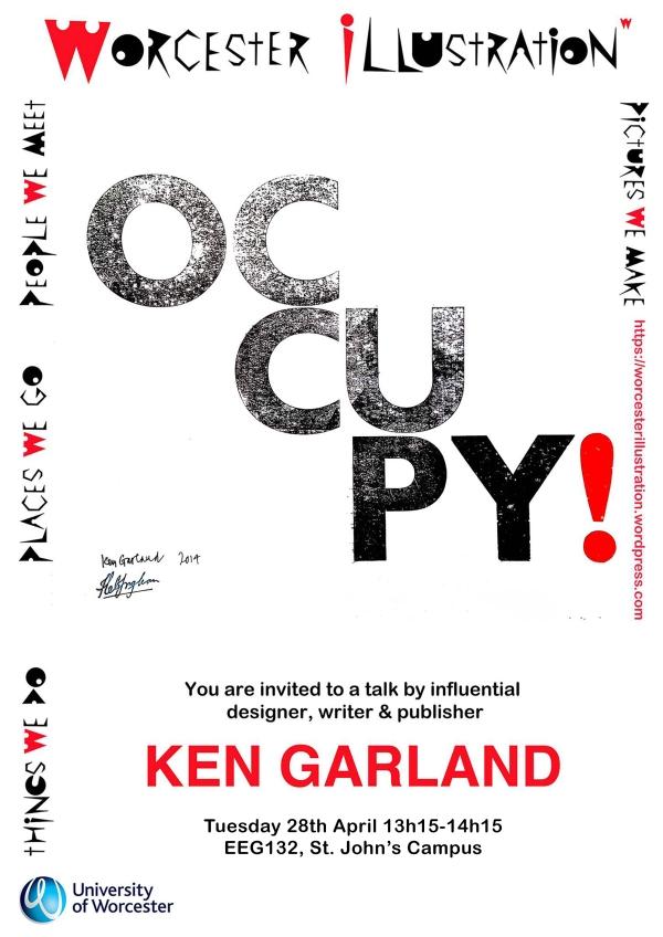 Ken Garland poster 2